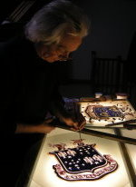 David Williams, designer and painter of stained glass